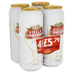 Stella Artois PM 4 for £5.79