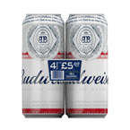 Budweiser PM 4 for £5.69