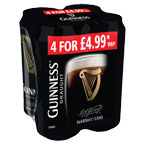 Guinness Draught PM 4 for £4.99