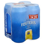 Fosters PM 4 for £4.25