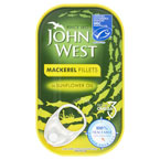 John West Mackerell Fillets In Oil