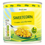 Best-one Sweetcorn PM 69p