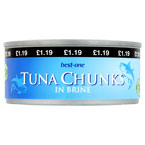 Best-one Tuna Chunks PM £1.19
