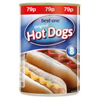 Best-one Hot Dogs PM 79p