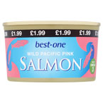 Best-one Pink Salmon PM £1.99
