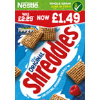 Shreddies PM £1.49