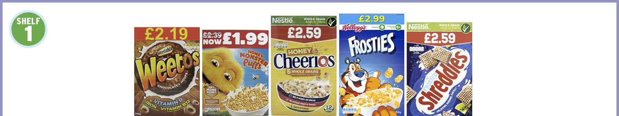 1mx5 Cereals Shelf 1