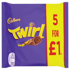 Twirl Chocolate PM £1
