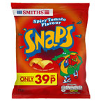Smiths Snaps Spicy Tomato