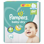 Pampers Baby Dry Maxi+ PM £4.99