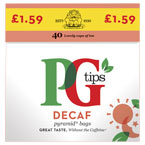 PG Tips Decaf PM £1.59