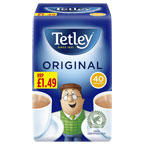 Tetley Tea Bags PM £1.49