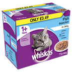 Whiskas Pouch Fish in Jelly
