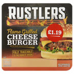 Rustlers Cheese Burger