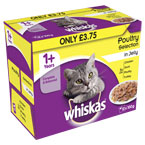 Whiskas Pouch Poultry in Jelly