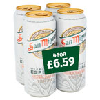 San Miguel PM 4 for £6.59
