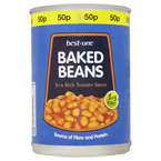Best-one Baked Beans PM 50p