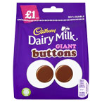 Cadbury Giant Buttons PM £1
