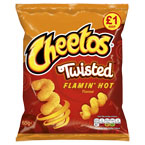Cheetos Twisted Flamin̥ Hot