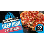 Chicago Town Deep Dish Pepperoni