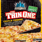 Chicago Town Thin One Cheese Pizza