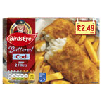 Birds Eye Battered Cod Fillets