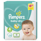 Pampers Baby Dry Size 4 PM £4.99