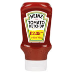 Heinz Ketchup Top Down PM £2.05