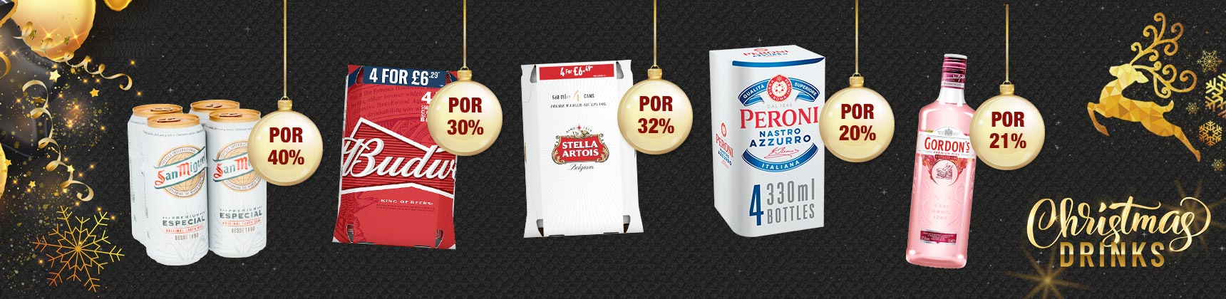 Christmas Drink Deals