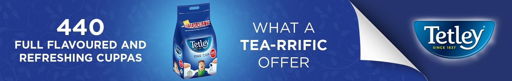 Tetley - it starts with Tea