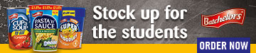 Batchelors - stock up for the students