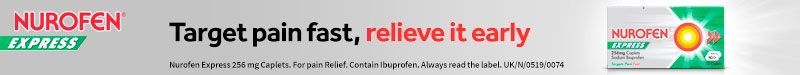 Nurofen Express - target pain fast, relieve it early