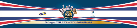 McVities – Win 100's of Team GB prizes