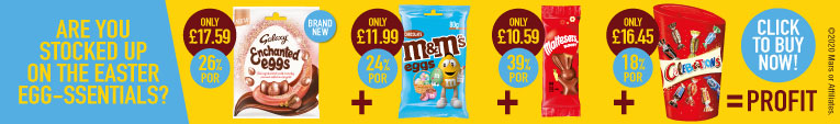 Mars – Are you stocked up on the Easter egg-essentials?