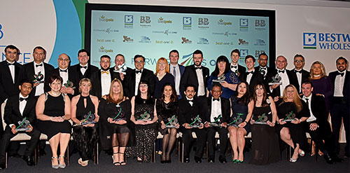 Bestway recognises colleagues across the business at its annual Performance Awards 2018