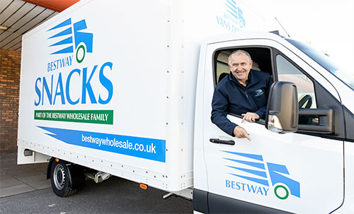 Bestway Vans Direct and Pladis UK & Ireland team up to raise money for NHS