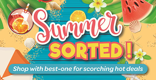 'Summer-Sorted' for best-one retailers