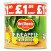 Del Monte Pineapple Slices in Juice 435g