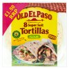 Old El Paso 8 Super Soft Flour Tortillas 326g