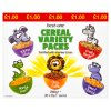 Best-One Cereal Variety Packs 10 x 25g (250g)