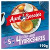 Aunt Bessies 4 Yorkshires PM £1