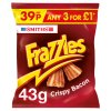 Smiths Frazzles Crispy Bacon Snacks PMP 43g
