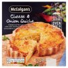 McColgan's Cheese & Onion Quiche 400g