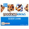 GOODNESSKNOWS® Blueberry and Almond 14 x 102g
