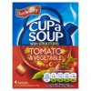 Batchelors Cup a Soup Tomato & Vegetable with Croutons 4 Pack 104g