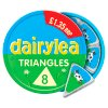 Dairylea Cheese Triangles £1.35 8 Pack 125g