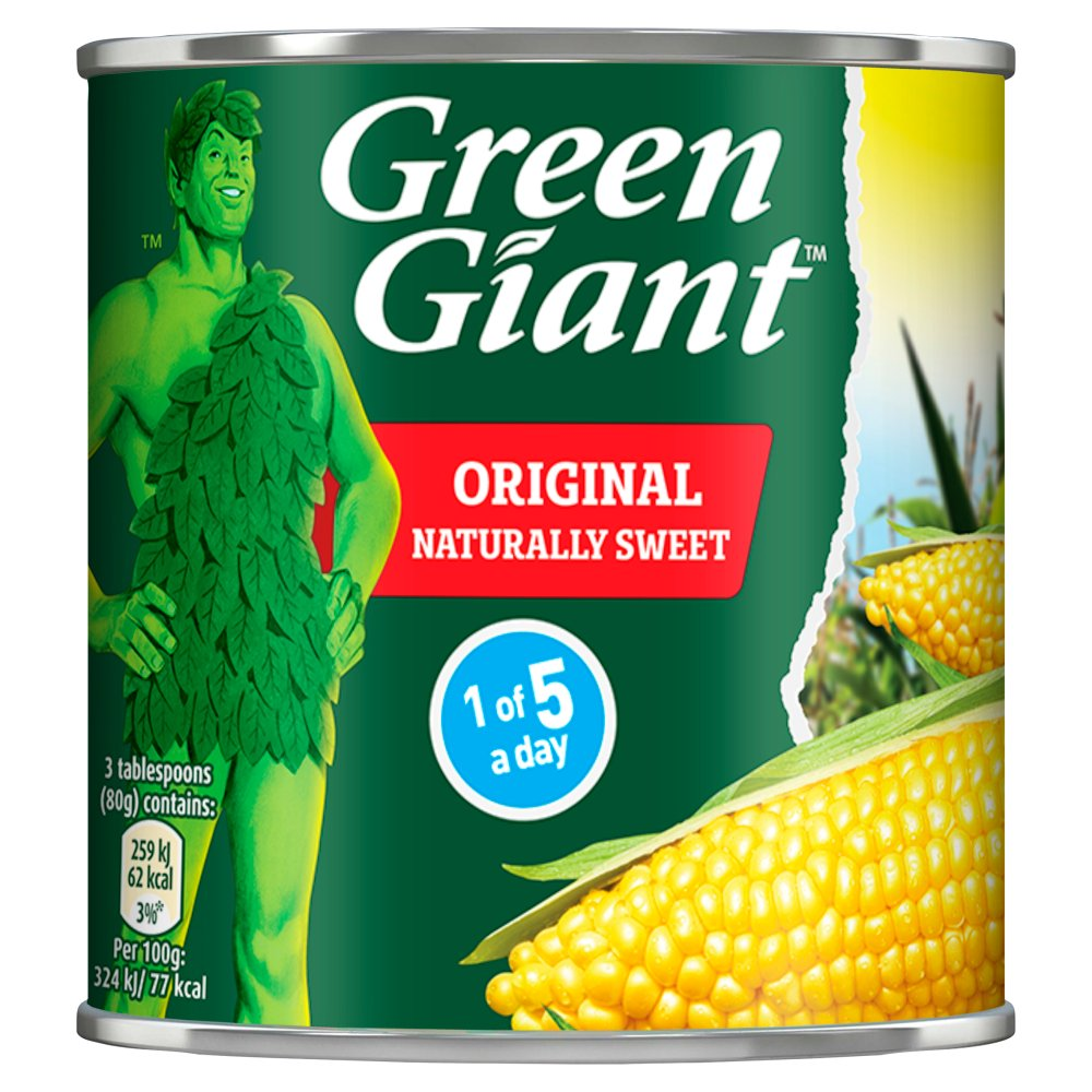 Green Giant Original Sweetcorn 670g