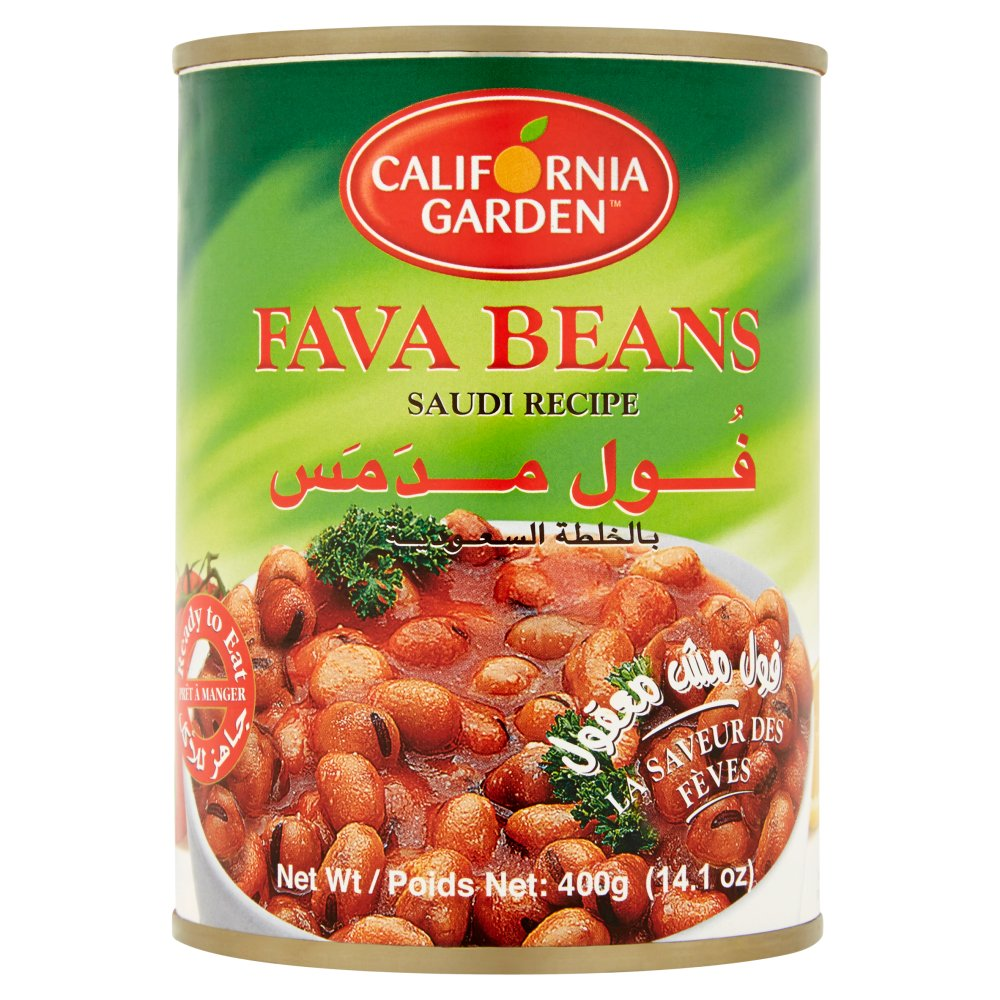 Gulf Food Industries Fava Beans with Saudi Recipe 400g