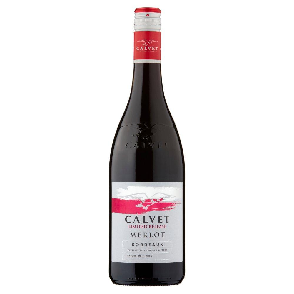 Calvet Limited Release Merlot Bordeaux 75cl