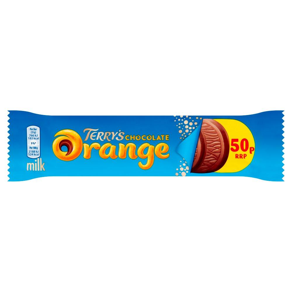 Terry's Chocolate Orange Bar Milk 35g